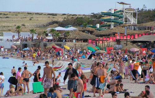 Croatia Beach Clubbing