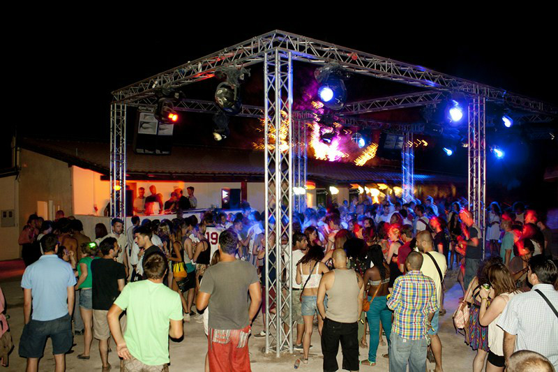 barbarella's afterhour club in Pirovac, Tisno, Croatia
