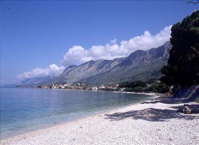 Chorvatsko Gradac soukromé apatmány ubytování hotely pokoje pronájem plavidel dovolená CK Lotos