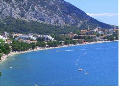 Chorvatsko Gradac Biokovo Makarská soukromé apatmány ubytování hotely pokoje pronájem plavidel dovolená CK Lotos