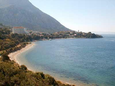 Chorvatsko Makarská Gradac Biokovo soukromé apatmány ubytování hotely pokoje pronájem plavidel dovolená CK Lotos