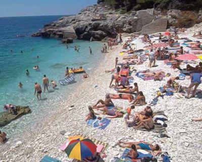 Pula Croatia Beach Pula Croatia Istria Pula