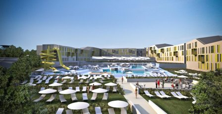hotel diadora croatia petrcane wellness