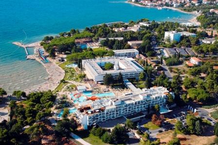 Hrvatska Grad Zadar panorama hotela Falkensteiner na Boriku