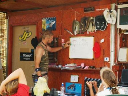 Chorvatsko Nin kurzy kitesurfing windsurfing kajak ubytování