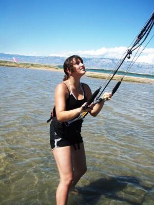 Chorvatsko Nin kitesurfing windsurfing kajak soukromé ubytování hotely penziony