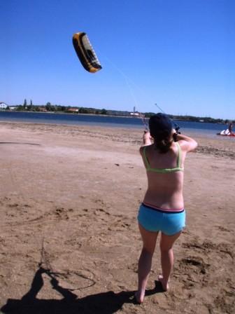 Chorvatsko Nin kitesurfing kurzy windsurfing kajak ubytování