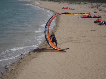 Chorvatsko Nin surfmania kitesurfing windsurfing kajak penziony ubytování