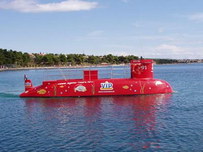 turistička podmornica