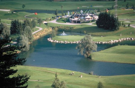 Schladming Austrija golf