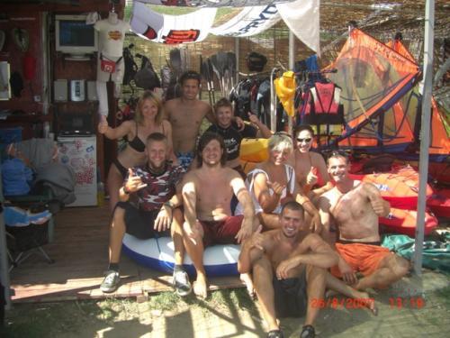 Chorvatsko Nin kitesurfing windsurfing kajak kurzy soukromé apartmány